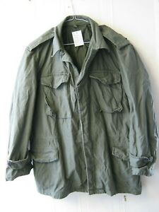 Greek Army M43 US Style Jacket Nato Olive Green Coat Combat Military Surplus