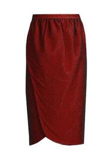Emilio De La Morena Salma Lace Wrap-Style Skirt