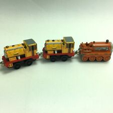 Thomas The Train Die-Cast Ben Bill and Terence Engine Cars 2002-2003 Lot of 3