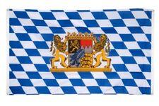 BALKONFLAGGE BALKONFAHNE Deutschland Bayern mit Löwe Flagge Fahne für den BALKON