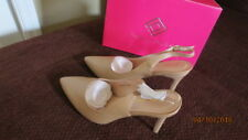 NEW  CREAM WOMENS SLIM-POINTED HIGH HEEL PUMP  SHOES SIZE 10 MADE BY DREAM PARIS