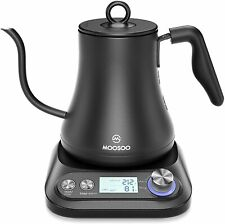 Electric Gooseneck Kettle with Variable Temperature Control & Presets, Pour Over