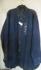 COVINGTON MEN JEAN SHIRT SIZE XXL NEW