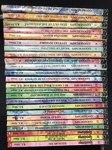 Goosebumps Collection (Not Complete) 90's Bundle