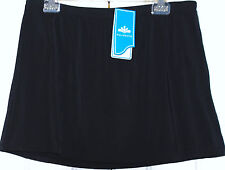 NEW! AQUABELLE SZ 24 CHLORINE RESISTANT-TUMMY CONTROL SWIMSKIRT- ATTACHED BRIEF