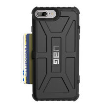 UAG Trooper Rugged Wallet Storage Case for iPhone 7 /6s Plus Black | Mil-spec