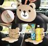 Auto Rück Sitz Getränke Halter Klapp Tisch Dosen Kinder Becher Tablett Halterung