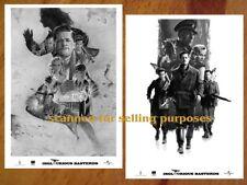 INGLOURIOUS BASTERDS rare PRESS PHOTO SET 60 B&W Stills QUENTIN TARANTINO Pitt