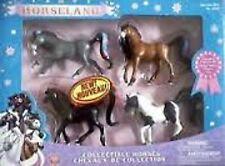 Horseland Set 4 Horses Scarlet Button Pepper Aztec NEW!