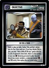 Star Trek CCG All Good Things In For A Trim 13P