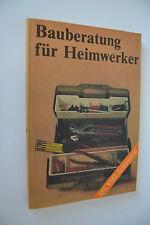 DDR Buch Bauberatung für Heimwerker 1984 (R1)