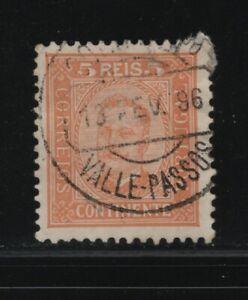 Portugal - D. Carlos I - Marcofilia - VALLE-PASSOS