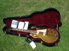 2009 Gibson Les Paul '52 1952 Tribute Goldtop Prototype #1954B P-90's with COA