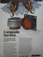 90-91 PUB AMP MIL-C-38999 SERIES III COMPOSITE SHELL AIGLE EAGLE SERRE AD
