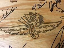 Indy Indianapolis 500 ROYCE CRAFT Basket Vintage 2000 WINNERS Hand Signed MIB