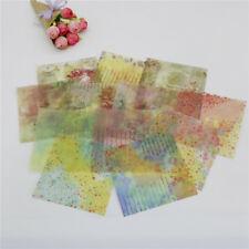 12pcs lovely background vellum paper stickers for scrapbooking card making FD