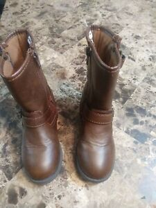 Carters Toddler Girls Brown Boots Size 10