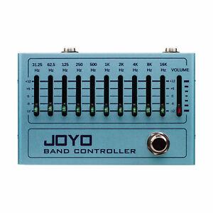 Joyo R12 R Series Band Controller - 10 Band Graphic EQ Pedal- Jam Music Ins
