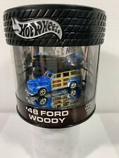 Hot Wheels Oil Can  '48 Ford Woody Wagon Wheels Series  # 592/7000 {BLUE}