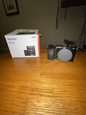 Sony Alpha a6100 24.2MP Mirrorless Camera - Black (Body Only)