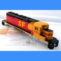 SANTA FE MERGER #5068 SD40-2 COMPLETE SHELL (PIN BLUE BOX STYLE) ATHEARN HO