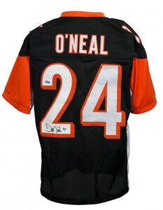 Deltha O'Neal Signed Cincinnati Bengals Jersey (TriStar Hologram) 2xPro Bowl CB