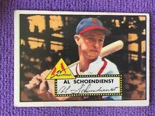 1952 Topps Baseball Card #91 HOFER St. Louis Cardinals Red Schoendienst
