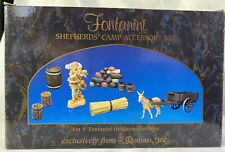 "Fontanini Nativity ~ Shepherds' Camp Accessory Set #51102 ~ 5"" Nativity ~ In Box"