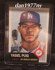 2018 Topps Living Set Card #66-Yasiel Puig. Free Shipping & *Price Guaranteed