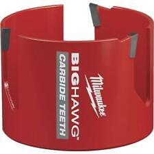 10 Pk Milwaukee High-Performance Big Hawg 3-5/8 In. Dia. Carbide-Tipped Hole Saw