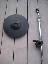 Roland CY-12R/C  Drum Crash Ride Cymbal Cy12 r/c w/stnd