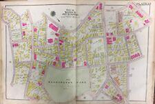 1906 BOSTON, ROXBURY, MA, WASHINGTON PARK, ST. JOSEPH'S CHURCH, PLAT ATLAS MAP