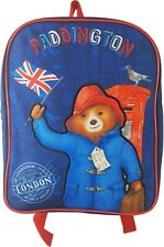 Paddington Bear Bag Backpack Ideal for school, nursery, Size H30 X W25 X D9cm