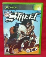 NFL Street Football Microsoft Xbox OG Game Complete Working