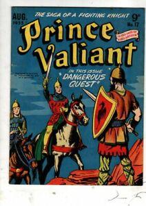 PRINCE VALIANT       No 17  GOLDEN AGE AUST COMIC  1955 V FINE
