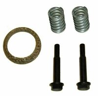 TOYOTA YARIS EXHAUST REAR SILENCER FITTING KIT BOLTS, SPRINGS & GASKET