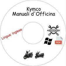 KYMCO Moto/Scooter - Guida Manuali d'Officina - Riparazione e Manutenzione!