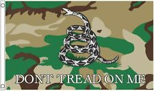 Gadsden Don't Tread on Me Camouflage 5'x3' Flag