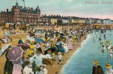 Weymouth,U.K.The Sands,Dorset,c.1909