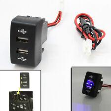 12/24V CRUSCOTTO DOPPIO USB BABORDO CAMION CARICATORE uscita LED per IVECO