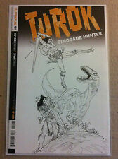 TUROK DINOSAUR HUNTER (2014) #5 B&W 1:10 VARIANT COVER NEAR MINT FIRST PRINTING