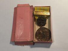 Médailles Indochine Corps Expéditionnaire d'Extreme Orient fabric Locale (52-21)