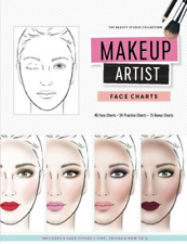 Reyna Gina M-Makeup Artist Face Charts (US IMPORT) BOOK NEW