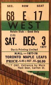 Detroit vs Toronto 1977 Kris King 1st goal  4-2 Leaf win.WILD Game Selling other