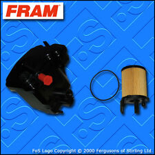 SERVICE KIT for PEUGEOT PARTNER 1.6 HDI FRAM OIL FUEL FILTERS (2005-2017)