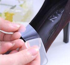2X Semelle Talon Silicone Coussinet Transpant Chaussures Anti Slip Talonnette NF