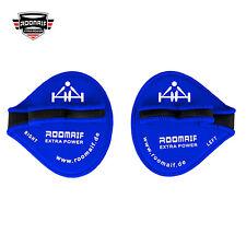 ROOMAIF Bodybuilding-Grips, Griffpolster, Klimmzug-Pad, Kraftsport, Grip-Pad DE