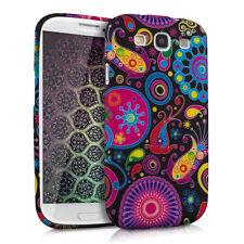 kwmobile Silikon Schutz Hülle Hippiemuster für Samsung Galaxy S3 S3 Neo Case