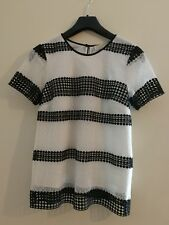 Michael Kors Women's Lace Top Shirt Size XS RRP £150