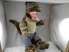 "Joe Boxer Dino Boxer plush  Godzilla Dinosaur  18""  it roars!"